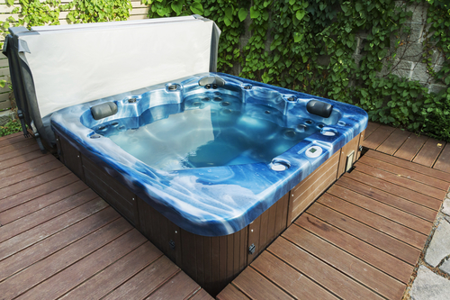 conservatory hot tub